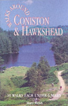 Coniston and Hawkshead Walks around, Paperback Book