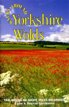 Walks Around Yorkshire Wolds, Paperback Book