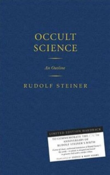 Occult Science : An Outline, Hardback Book