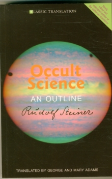 Occult Science : An Outline, Paperback / softback Book