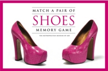Match a Pair of Shoes Memory Game, Cards Book
