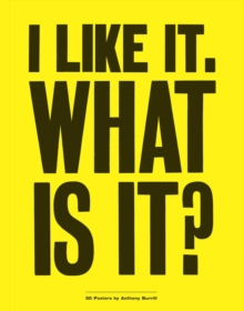 I Like it. What is it?, Paperback Book