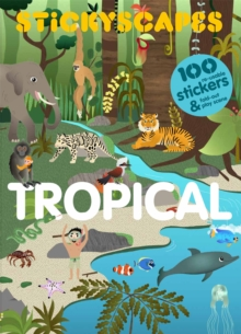 Stickyscapes Tropical Adventures, Paperback / softback Book