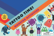 Tattoo Time! Monster Activities, Paperback Book