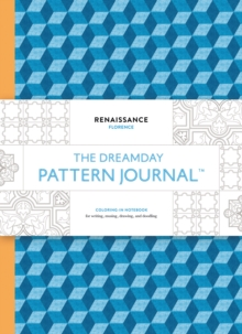 "Dreamday Pattern Journal: Heraldic - Paris : ""Colouring-in notebook for writing, musing, drawing and doodling"", Paperback Book"