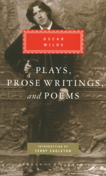 Plays, Prose Writings and Poems, Hardback Book