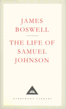 The Life Of Samuel Johnson, Hardback Book
