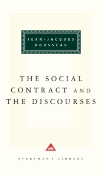 The Social Contract And The Discources, Hardback Book