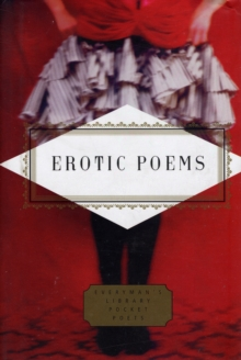 Erotic Poems : Selected Poems, Hardback Book