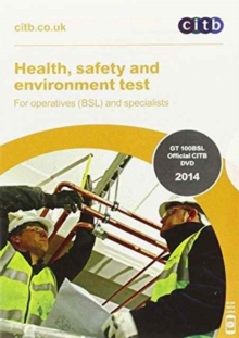 Health, Safety and Environment Test for Operatives (BSL) and Specialists, DVD-ROM Book