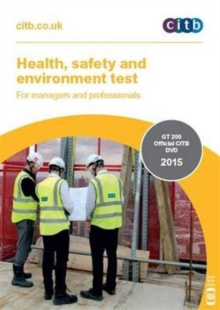 Health, Safety and Environment Test for Managers and Professionals : GT 200/15 DVD, DVD-ROM Book