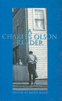 A Charles Olson Reader, Paperback Book