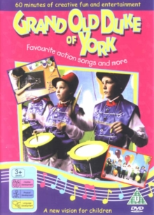 Grand Old Duke of York, DVD Book