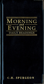 Morning And Evening - Gloss Black, Leather / fine binding Book