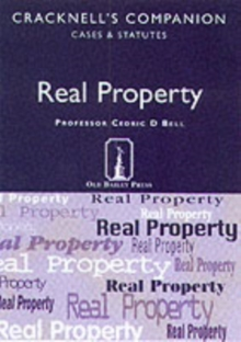 Real Property : Cases and Statutes, Paperback Book