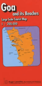 Goa and Its Beaches : Tourist Map, Sheet map, folded Book