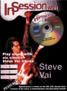 In Session with Steve Vai : (Guitar Tab), Paperback Book