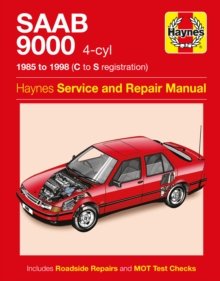 Saab 9000 (4-Cyl) (85 - 98) C To S, Paperback / softback Book