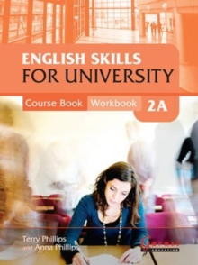 English Skills for University 2A Combined Course Book & Workbook with CDs, Mixed media product Book