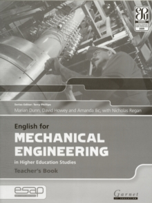 English for Mechanical Engineering Teacher Book, Board book Book