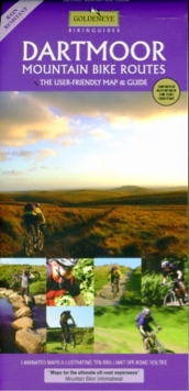 Dartmoor : Mountain Bike Routes, Sheet map, folded Book