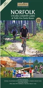 Norfolk : Cycling Country Lanes & Traffic-Free Family Routes, Sheet map Book