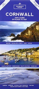 CORNWALL : MAP & GUIDE OF PLACES TO VISIT, Sheet map Book