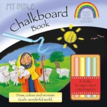 My Bible Chalkboard Book: Stories from the New Testament (Incl. Chalk), Board book Book