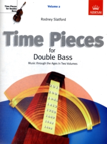 Time Pieces for Double Bass, Volume 2, Sheet music Book