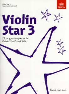 Violin Star 3, Accompaniment book, Sheet music Book