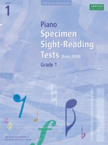 Piano Specimen Sight-Reading Tests, Grade 1, Sheet music Book