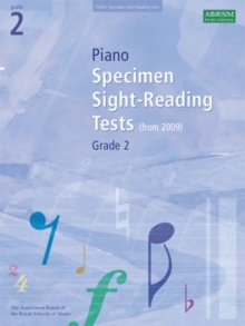 Piano Specimen Sight-Reading Tests, Grade 2, Sheet music Book