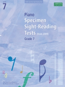 Piano Specimen Sight-Reading Tests, Grade 7, Sheet music Book