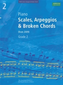 Piano Scales, Arpeggios & Broken Chords, Grade 2, Sheet music Book