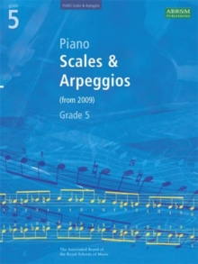 Piano Scales & Arpeggios, Grade 5, Sheet music Book