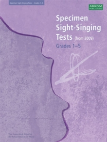 Specimen Sight-Singing Tests, Grades 1-5, Sheet music Book