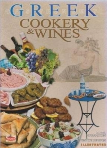 Greek Cookery & Wines, Paperback Book