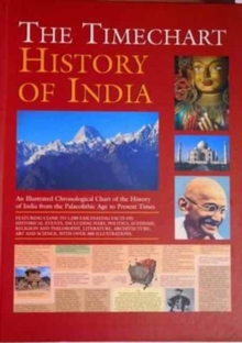 Timechart History of India, Hardback Book