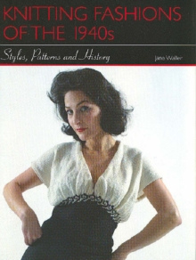 The 1940s Knitting Pattern Book, Hardback Book