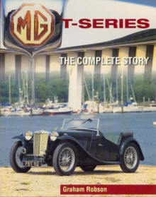 MG T-Series : The Complete Story, Paperback / softback Book