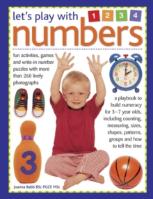 Let's Play With Numbers, Hardback Book