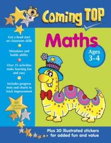 Coming Top: Maths - Ages 3-4, Paperback Book