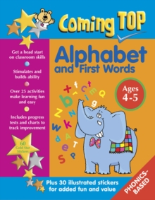 Coming Top: Alphabet and First Words - Ages 4 - 5, Paperback / softback Book