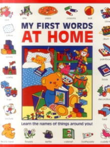 My First Words: At Home (Giant Size), Paperback Book