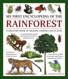 My First Encyclopedia of the Rainforest : A Great Big Book of Amazing Animals and Plants, Paperback Book
