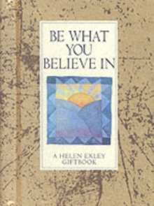 Be What You Believe in, Board book Book