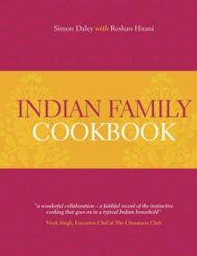 Indian Family Cookbook, Hardback Book