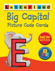 Big Capital Picture Code Cards, Cards Book