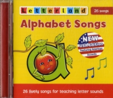 Alphabet Songs CD, CD-Audio Book
