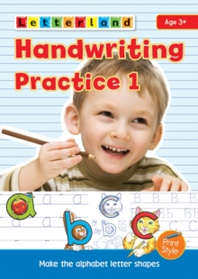 Handwriting Practice : My Alphabet Handwriting Book 1, Paperback / softback Book